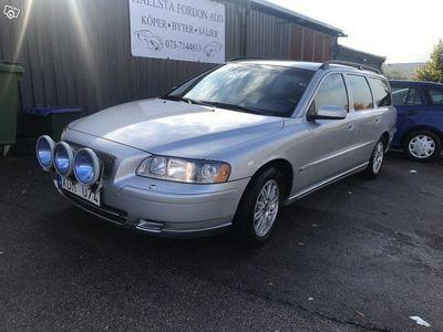 begagnad Volvo V70 2.4 Business 140hk