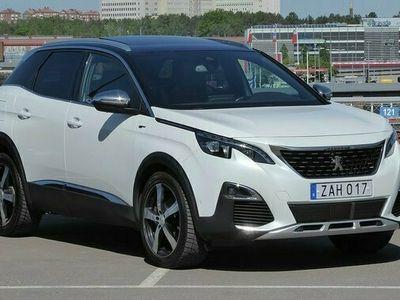begagnad Peugeot 3008 2.0 GT Premium Business Navi Panorama 2018, SUV Pris 244 900 kr
