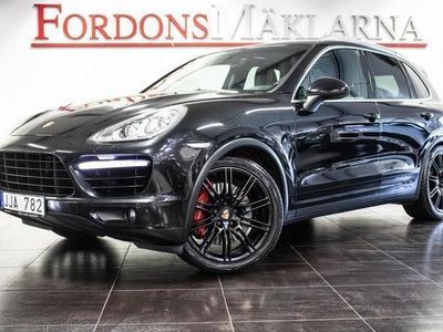 begagnad Porsche Cayenne Turbo BLACK EDITION BOSE PASM DRAG
