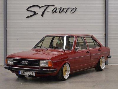 begagnad Audi 80 GLS 1.6 Svensksåld 85Hk