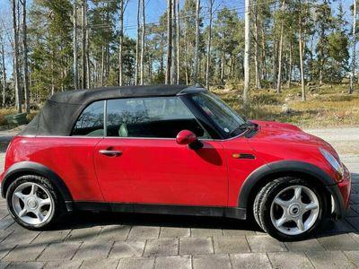 begagnad Mini Cooper Cabriolet