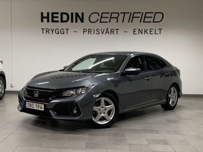 begagnad Honda Civic 1.6 i-DTEC 120hk Elegance *V-hjul*