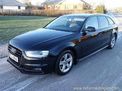 usata Audi A4 AVANT 2.0 TDI Clean Diesel 150hk Sport Edition Plus S-Line S