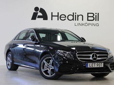begagnad Mercedes E300 Sedan 9G Aut AMG Multibeam Strålkastare Navi Dragkrok Premiumpaket