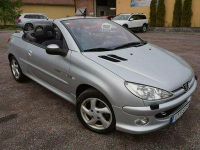 begagnad Peugeot 206 CC Cab 1.6 109hk Rep- Objekt