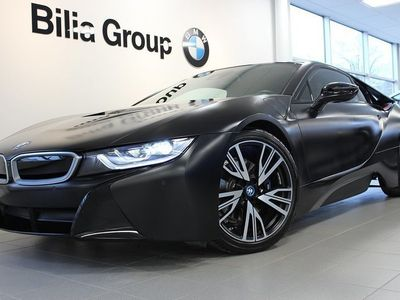 begagnad BMW i8 Protonic Frozen black edition -17 Steptronic Euro 6 362hk