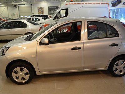 begagnad Nissan Micra 1,2 5D Halvkombi