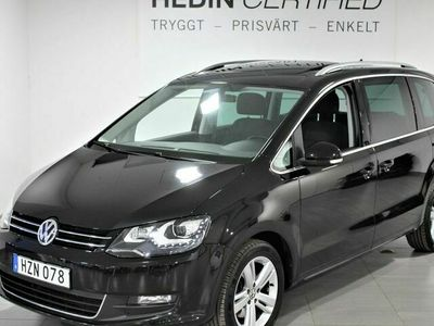 begagnad VW Sharan 2.0 TDI 7 - sits Aut Drag S&V - Hjul Panorama