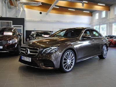 begagnad Mercedes E200 184hk 9-G Tronic / AMG / Panorama / Svensksåld