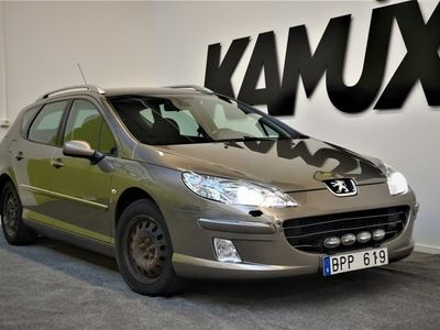 begagnad Peugeot 407 1,6 HDi | Drag | Vinterdäck | 109