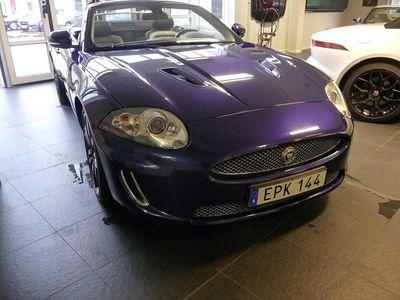 begagnad Jaguar XKR Cabriolet Convertible 5.0 V8 510hk, fantastisk!