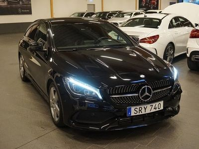 begagnad Mercedes CLA250 Shooting Brake 4MATIC Aut AMG Night