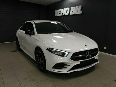 begagnad Mercedes A200 Sedan AMG Night Package