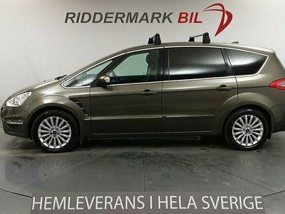 begagnad Ford S-MAX 2.0 145hk 7-sits M-Värmare Nav Pano Alcantara/Skinn