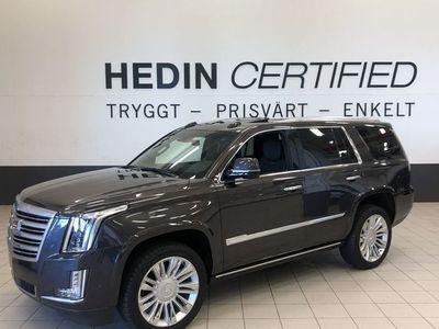 begagnad Cadillac Escalade SW Platinum 6,2L V8 AT8 425hk KAMPANJ Låg Skatt
