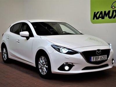 begagnad Mazda 3 2.2 DE SKYACTIVE SPORT 150 HK, S&V Hjul