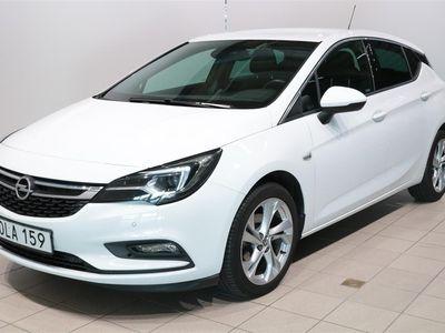 begagnad Opel Astra 1.4T Dynamic 5d A6 /150hk Ergostolar Krom fönsterlist Tonade rutor