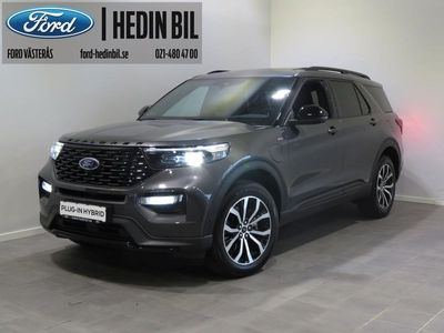begagnad Ford Explorer Plug-In-Hybrid 7-sits 457hk 10-