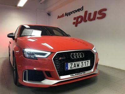 begagnad Audi RS3 RS3 SaloonLimousine 2.5 TFSI quattro 400 HK S-tro