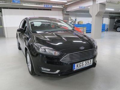 begagnad Ford Focus TITANIUM 1.0 125HK ECOBOOST 5D MAN6