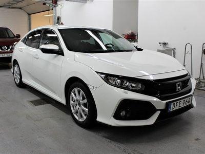 begagnad Honda Civic 5-dörrar 1.0 CVT Euro 6 129hk / E