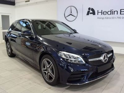 begagnad Mercedes C220 D 4MATIC, AMG, Drag