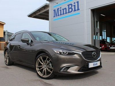 begagnad Mazda 6 2.2 SKYACTIV-D AWD AUT 175HK 3976MIL