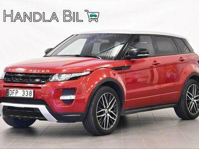 begagnad Land Rover Range Rover evoque