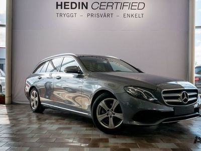 begagnad Mercedes E220 // Panoramaglastak & Navigation //