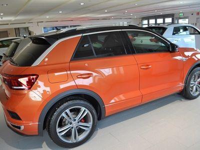 begagnad VW T-Roc GT 2.0 TSI 4M 190 HK 7 VXL DSG