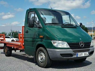 begagnad Mercedes Sprinter Benz 313 CDI Chassi BILTRANSPORTBIL 2001, Transportbil Pris 99 900 kr