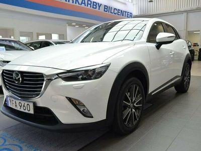 begagnad Mazda CX-3 2.0 120hk Optimum Automat / Navi / BOSE