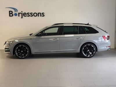 begagnad Skoda Superb Kombi Combi 2.0 TDI 190hk 4x4 DSG SportLine Business Adventure Edition, Dragpaket