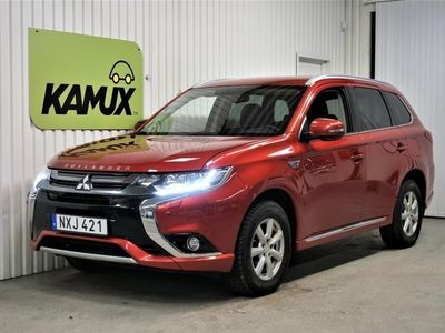 begagnad Mitsubishi Outlander P-HEV Hybrid 4WD S&V-Hjul (203hk)