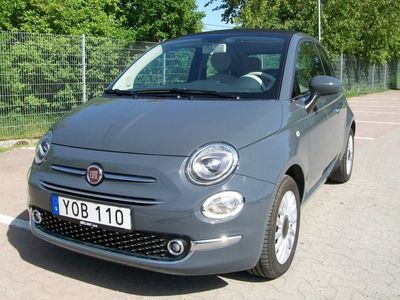 begagnad Fiat 500C 1.2 69hkr Cabriolet