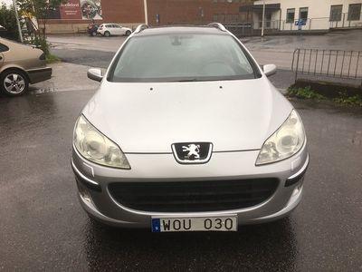 used Peugeot 407 2.0 (137hk)Panoraatak,besiktigad.