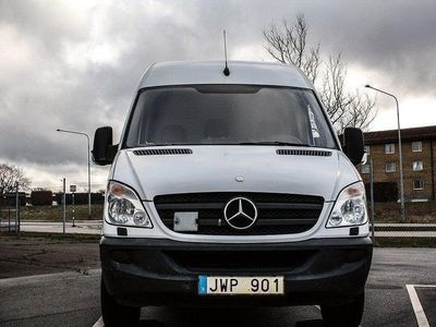 begagnad Mercedes Sprinter 313 CDI Panel Van Automat 129hk 3 Sits