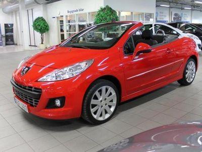 begagnad Peugeot 207 CC 1,6 VTi 120hk