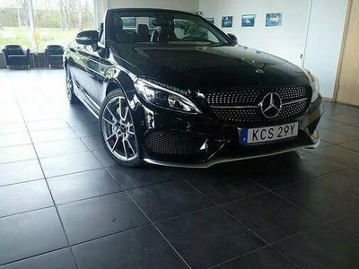 begagnad Mercedes C43 AMG AMG 1 ÄG. 24 MÅN MB-GARANTI SPORTAVGAS