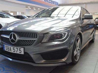 begagnad Mercedes 200 CLA BenzCDI Shooting Brake AMG Sport Automat 2015, Sportkupé 209 900 kr