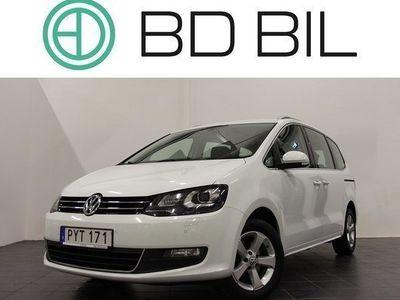 begagnad VW Sharan 2.0 TDI PREMIUM D-VÄRM PANO