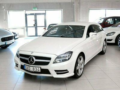 begagnad Mercedes CLS350 Shooting Brake CDI BE AMG 265hk Massage