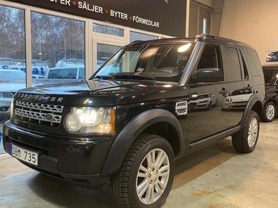 begagnad Land Rover Discovery 3.0 TDV6 4WD Automat 7-sits 211hk