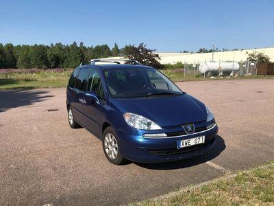 begagnad Peugeot 807 2.0 HDI 7-sits Nykamrem/Nybes