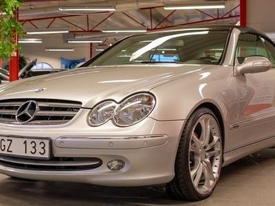 begagnad Mercedes CLK320 Cabriolet Automat Elegance 218hk