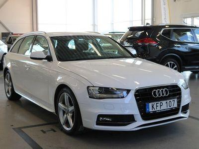 brugt Audi A4 2.0 TDI Avant 150hk S-line Aut