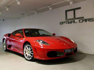 begagnad Ferrari F430 F1 Coupe Rosso-Corsa Ceramic 3300mil Challenge