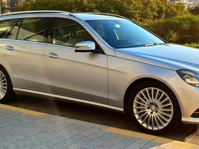 begagnad Mercedes E500 luxury