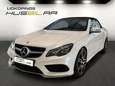 begagnad Mercedes E350 Cabb AMG Plus Sport Euro 6 258hk