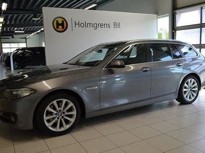 begagnad BMW 520 d xDrive Touring Panorama Komfortöppning Harmon Kardon